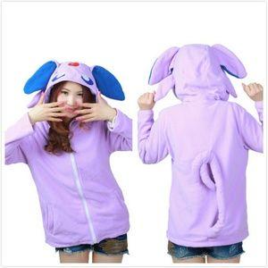 Pokemon Espeon cosplay hoodie